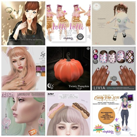 Many Gifts @ Candy Fair 2016 by Several Designers | Teleport Hub - Second Life Freebies | Second Life Freebies | Scoop.it