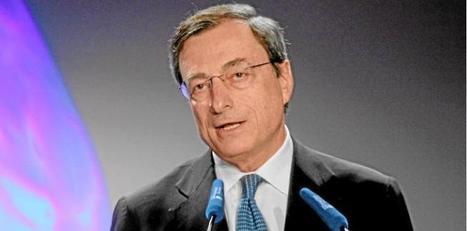 Mario Draghi parle d'or | Economics actu | Scoop.it