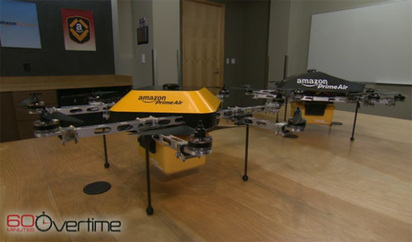 Amazon Reveals Surprise on 60 Minutes: Delivery Drones | Xposed | Scoop.it