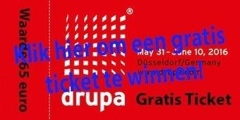Win een DRUPA ticket: eerste tien winnaars zijn bekend   BlokBoek e-zine   Scoop.it