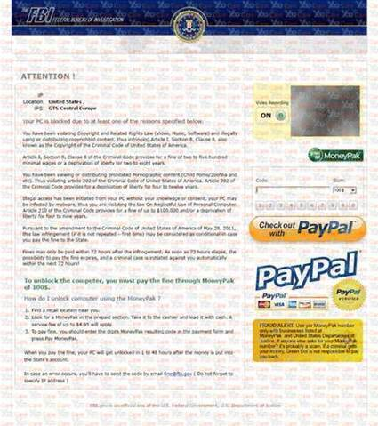 FBI Paypal Virus Removal | newlife | Scoop.it
