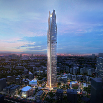 SOM unveils Indonesian skyscraper that will harness wind power | PROYECTO ESPACIOS | Scoop.it