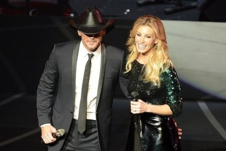 Tim McGraw Finds Comfort in Faith Hill's Southern Heart | Country Music Today | Scoop.it