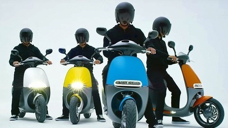 Gogoro's awesome electric scooter is coming to Europe next year, Amsterdam first   Ecoloisirs   Scoop.it