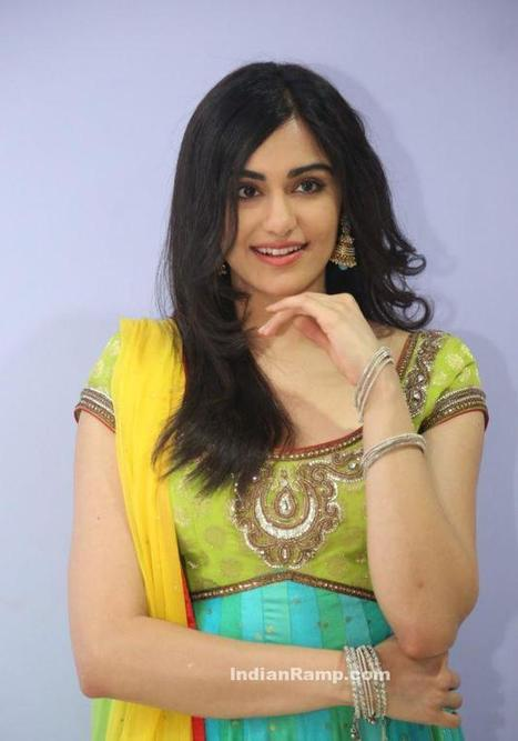 Adah Sharma in Fluorescent Green Long Frock Anarkali in Garam Movie, Actress, Indian Fashion, Tollywood | Indian Fashion Updates | Scoop.it