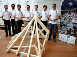 En route vers la finale du Championnat européen des jeunes charpentiers 2014 | Veille professionnelle bâtiment | Scoop.it