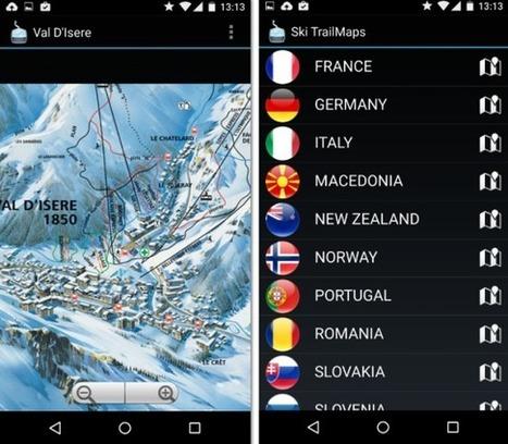Les meilleures applications pour les pistes de ski ... | web@home    web-academy | Scoop.it