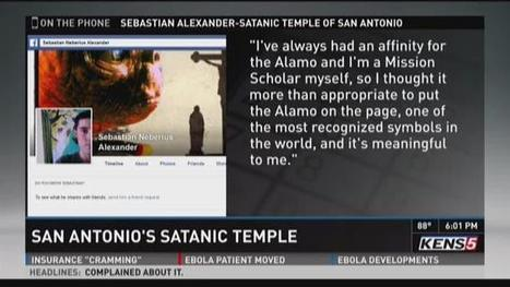 People have 'misconception' of Satanists, S.A. group's leader says - KENS 5 TV   Satanism   Scoop.it