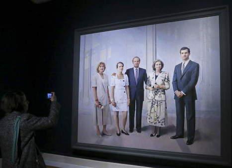 El retrato irreal de la familia real - Diario de León | IMAGINARIOS | Scoop.it