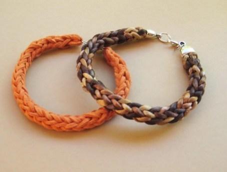 Cómo tejer una pulsera con dos agujas | Teje-Lola | Scoop.it