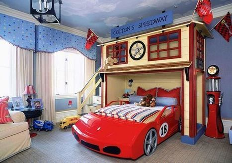 Creative Ways To Turn Your Kid's Bedroom Into A Wonderland | Creative_me | Scoop.it