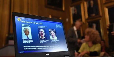 Le Nobel de physique attribué à trois Britanniques pour leurs recherches sur la matière   ça m intéresse !   Scoop.it