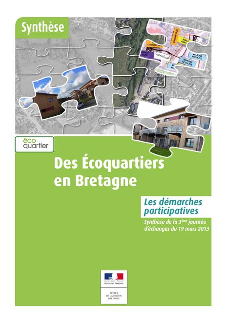 Des écoquartiers en Bretagne - Les démarches participatives - Bretagne Environnement | Qualité environnementale des bâtiments et territoires | Scoop.it