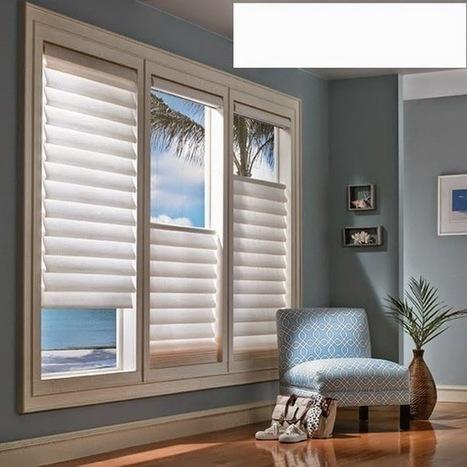 Window blinds, best ideas of window coverings for living room | living room design | Scoop.it