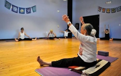 Wow!!!: 94-Year-Old Yoga Teacher | Yoga Invader ENGLISH | Scoop.it
