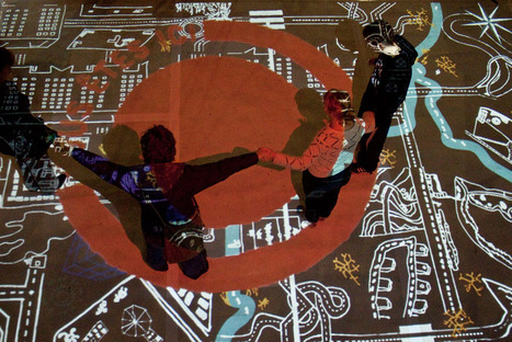 Vous êtes ici... et Ailleurs - Fête des Lumières | Evenements - AADN - Arts numériques - Digital arts | Cartographie culturelle | Scoop.it