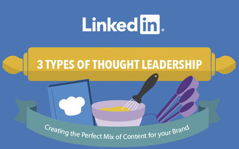 3 Types of Thought Leadership: Creating the Perfect Mix of Content for Your Brand [Infographic] | Cogitation Supremacy | Scoop.it