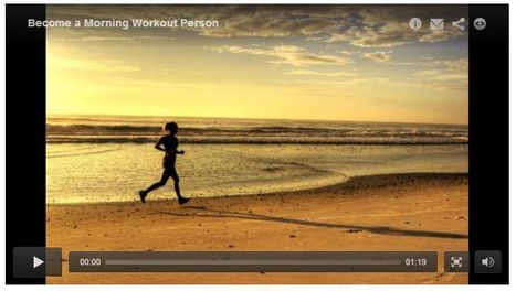 Become a Morning Workout Person | Marathon Running Tips | Scoop.it