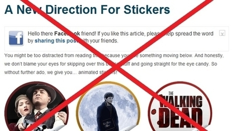 GetGlue announces change to sticker program, fans react - Lost Remote | screen seriality | Scoop.it