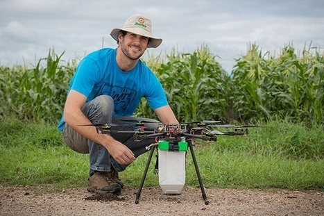 Bug Drone : des drones au secours de l'agriculture biologique | Solutions alternatives pour un monde en transition | Scoop.it