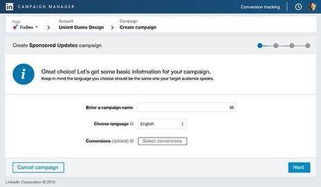 Linkedin déploie enfin le suivi des conversions   Smartphones et réseaux sociaux   Scoop.it