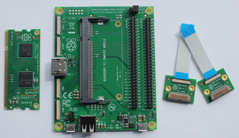 Raspberry Pi Compute Module Development Kit Is Now Available for $200 | Embedded Systems News | Scoop.it