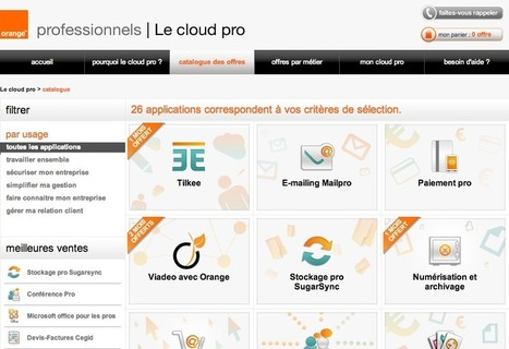 Tilkee signe un partenariat stratégique avec Orange Cloud Pro | Actu de l'écosystème d'Axeleo | Scoop.it