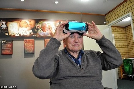 Elderly residents escape nursing home to virtual reality | THE VIETNAM WAR ERA  DIGITAL STUDY: MIKE BUSARELLO | Scoop.it