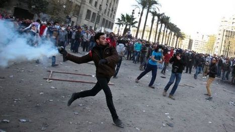 Violence hikes in Egypt, scores injured | From Tahrir Square | Scoop.it