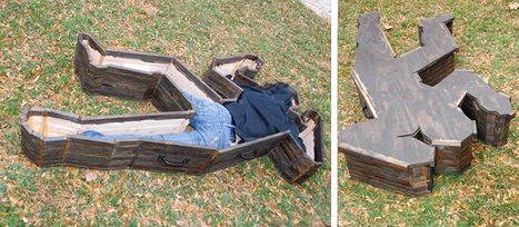 Crime Scene Coffin   Just Tell Us about   Scoop.it