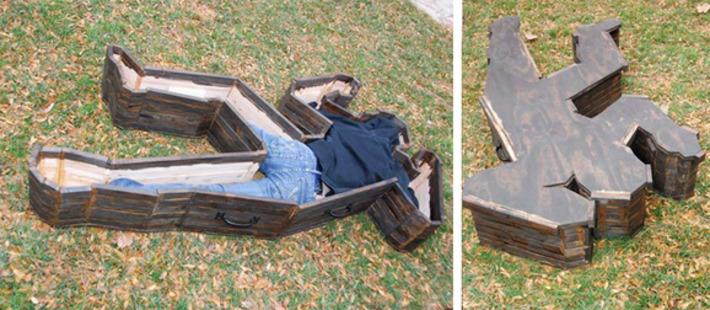 Crime Scene Coffin | Kitsch | Scoop.it