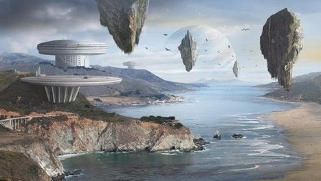 How to Create an Amazing Futuristic Matte Painting in Photoshop | Matte painting | Scoop.it