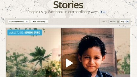 Facebook Stories: A Facebook Site With Collected Stories and Infographics | Transmedia: Storytelling for the Digital Age | Scoop.it