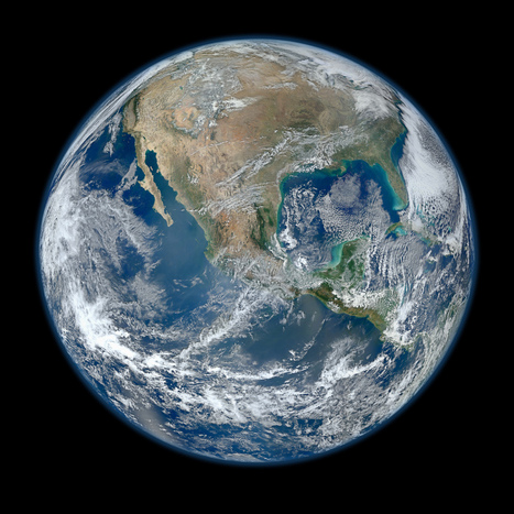 """The Most Amazing High Definition Image of Earth Ever,"" Says NASA 