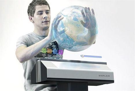 Hologramas de Star Wars en tu mesa: La pantalla etérea Displair llega a España | Tecnología y Electrónica | Scoop.it
