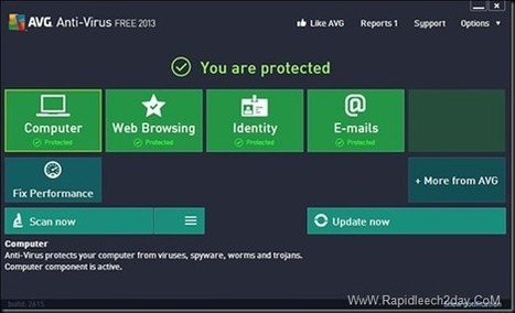 Download AVG Anti-Virus Free 2013.3267 Offline Installer- Free and Easy to Use | Web Development and Softwares | Scoop.it