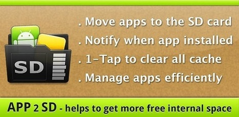 App 2 SD (move app to SD) - Android Market | Best of Android | Scoop.it