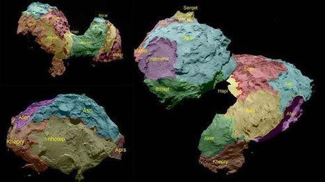 Rosetta: Komet Tschuri ist eine Wundertüte - ZEIT ONLINE | Astronomie | Scoop.it