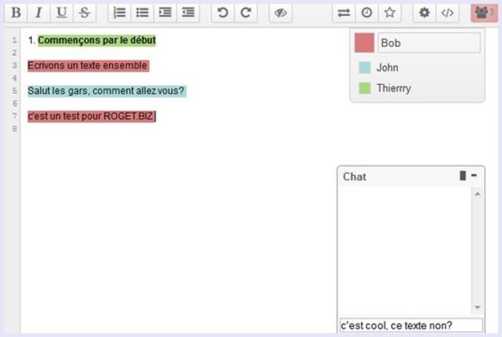 Comment éditer un texte en ligne à plusieurs et à distance | TIC et TICE mais... en français | Scoop.it