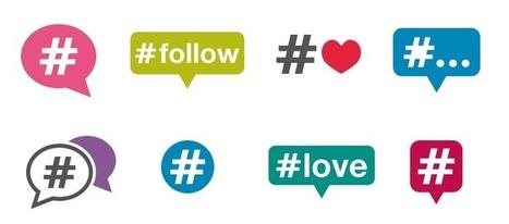 #Hashtags: ¿cómo debo usarlos en cada red social? | Colaboración + economía. | Scoop.it