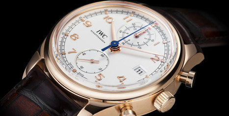 Watchout: IWC Portugieser Chronograph Classic   The Gentlemans Journal   The latest in style and grooming, food and drink, business, lifestyle, culture, sports, restaurants, nightlife, travel and p...   luxury watches   Scoop.it