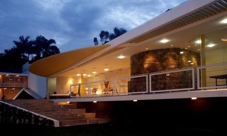 etonnante maison contemporaine mexicaine et sa. Black Bedroom Furniture Sets. Home Design Ideas