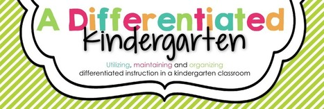 A Differentiated Kindergarten: Get 'em Moving With Nonsense Word ...   differentiation resources   Scoop.it