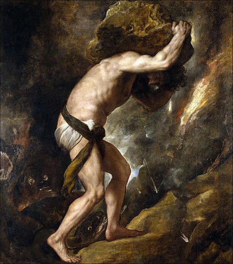 Sísifo.Tiziano.   Mitologias del Mundo Antiguo   Scoop.it