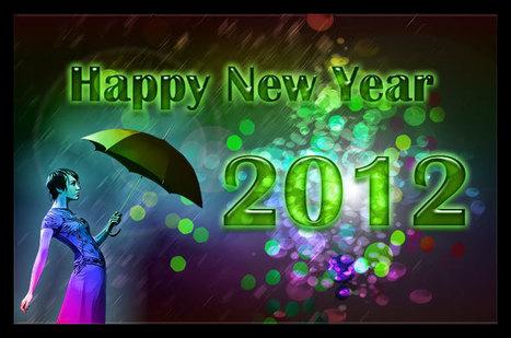Happy New Year – carte pour le nouvel an sur Photoshop     Photos montage   Scoop.it