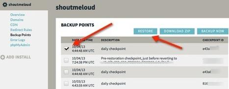 How To Restore WordPress Blog From WPEngine Hosting Backup | Learn WordPress | Scoop.it