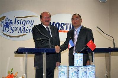 Isigny Sainte-Mère: les Chinois investissent 20millions d'euros (Ouest France) | Echanges économiques franco-chinois | Scoop.it