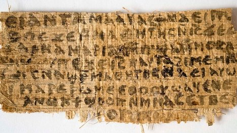 Papyrus Referring to Jesus' Wife Is More Likely Ancient Than Fake, Scientists Say | Pahndeepah Perceptions | Scoop.it