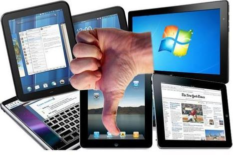 Why tablets are failing miserably in higher education | 3D Virtual-Real Worlds: Ed Tech | Scoop.it