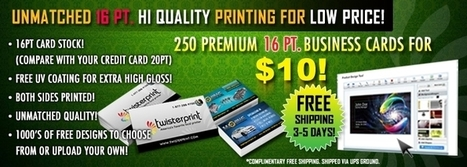 Business Cards Print in Texas|Business Cards Printing in California, Florida | Poway Perio | Scoop.it